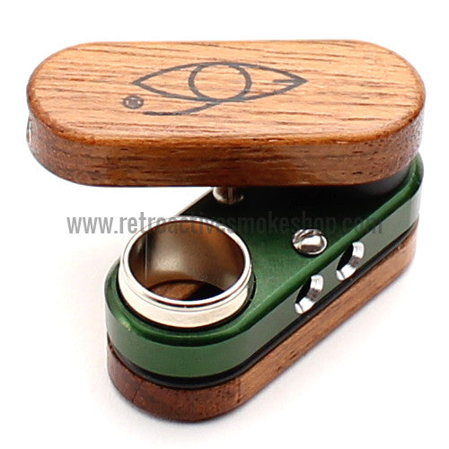 Classic Monkey Pipe - Green - Retro Active Smoke Shop