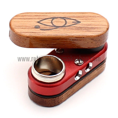 Classic Monkey Pipe - Red - Retro Active Smoke Shop