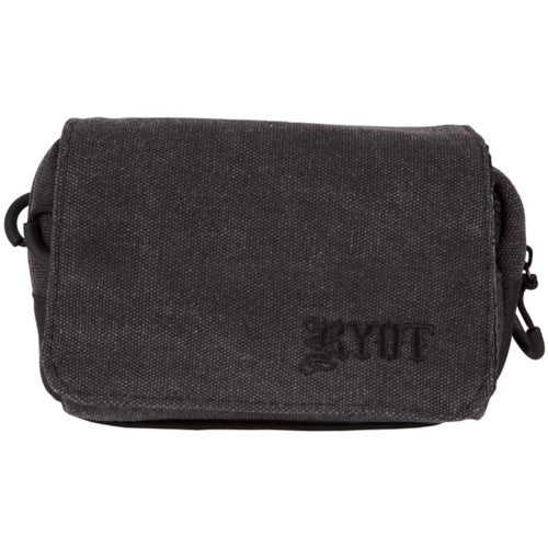 RYOT Small SmellSafe™ Piper Pipe Case with NoGoo - Black - Retro Active Smoke Shop  - 1