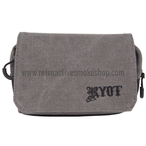 RYOT Small SmellSafe™ Piper Pipe Case with NoGoo - Gray - Retro Active Smoke Shop  - 10