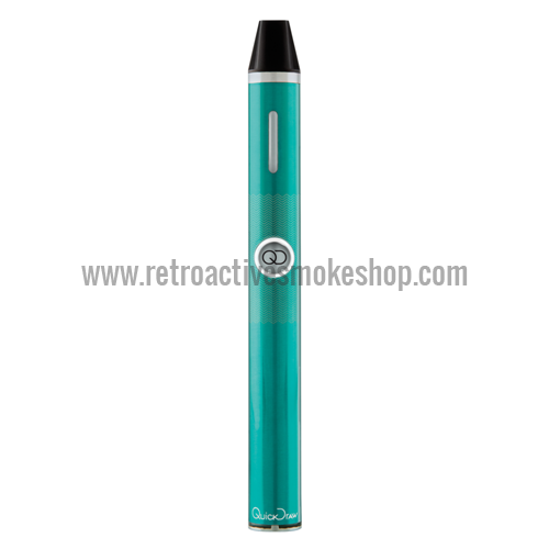 Quickdraw 300 DLX Portable 3-in-1 Vaporizer - Teal - Retro Active Smoke Shop  - 1