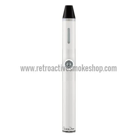Quickdraw 300 DLX Portable 3-in-1 Vaporizer - White - Retro Active Smoke Shop
