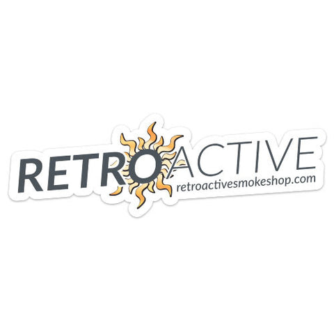 Retro Active Sticker - Retro Active Smoke Shop
