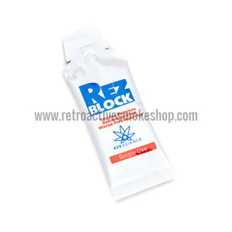 420 Science RezBlock Concentrate Cleaner - Single Use Packet - Retro Active Smoke Shop