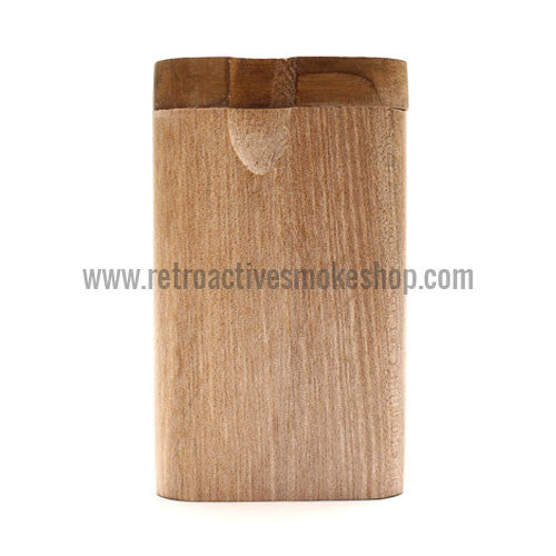 RASS Wood Twist Top Dugout - Small - Retro Active Smoke Shop  - 1