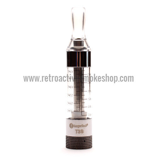 Kanger T3S Bottom Coil Clearomizer - Clear - Retro Active Smoke Shop