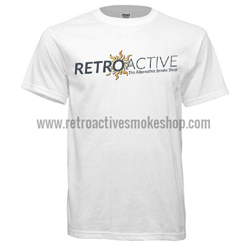 Retro Active Smoke Shop T-Shirt - Retro Active Smoke Shop  - 1