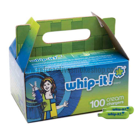 Whip-It! Whipped Cream Chargers N2O - 100 Pack - Retro Active Smoke Shop