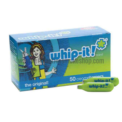 Whip-It! Whipped Cream Chargers N2O - 50 Pack - Retro Active Smoke Shop