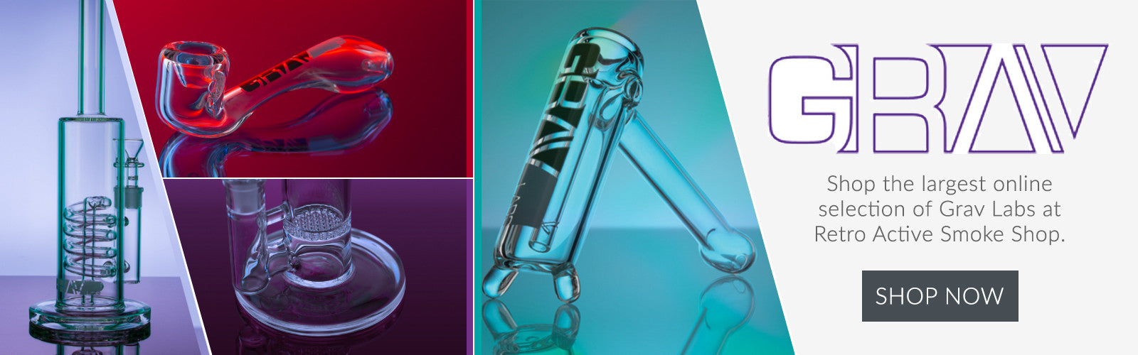 Shop the Largest Selection of Grav Labs at Retro Active Smoke Shop