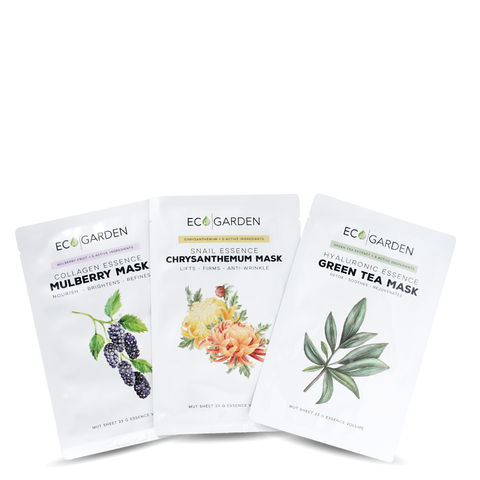 Eco Garden  The Essence face mask Kit