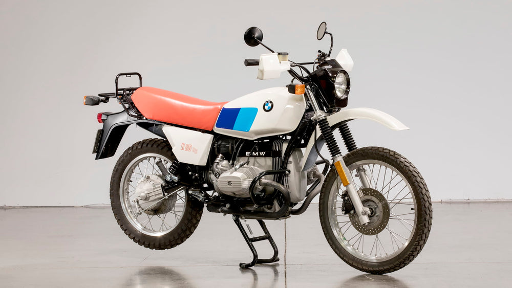 History of All BMW GS Models since the 1980 R80 G/S
