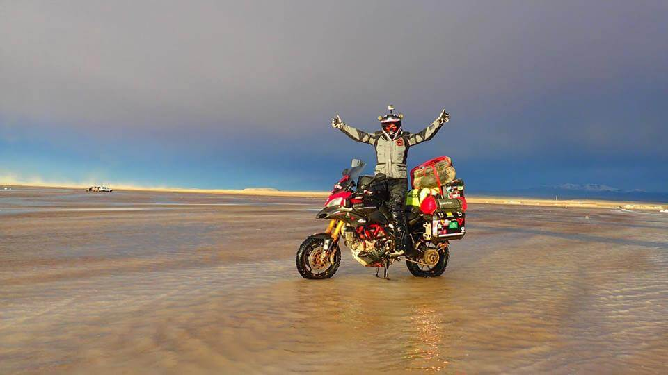 TOP 10 DONT'S OF MOTORCYCLE CAMPING - photo by Lone Rider MotoTent v2 customer