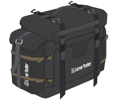 Lone Rider MotoBags Soft Motorcycle Bag Luggage