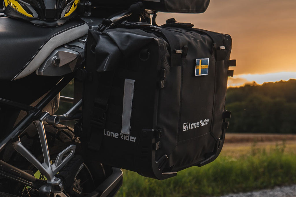 MotoBags are semi-rigid construction for true ADV riding