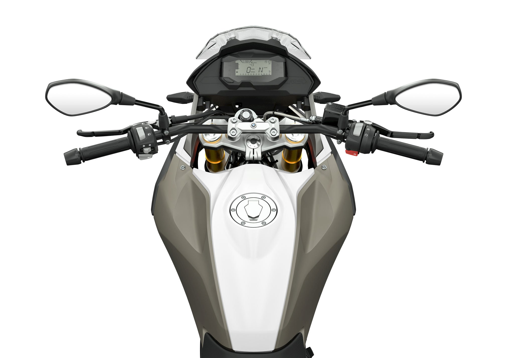 2021 BMW G 310 GS cockpit