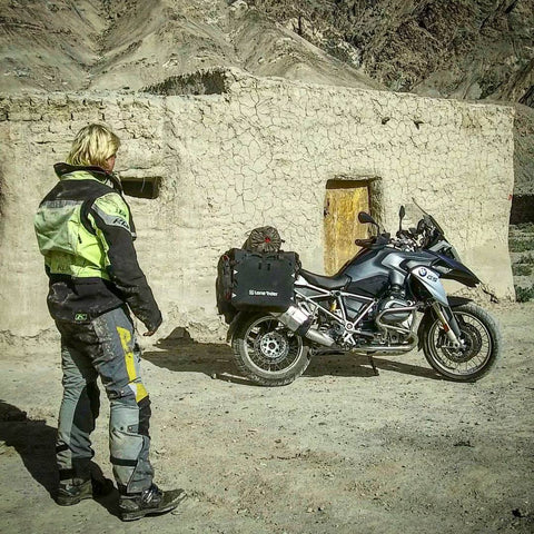 MotoBags Supports Lone Rider