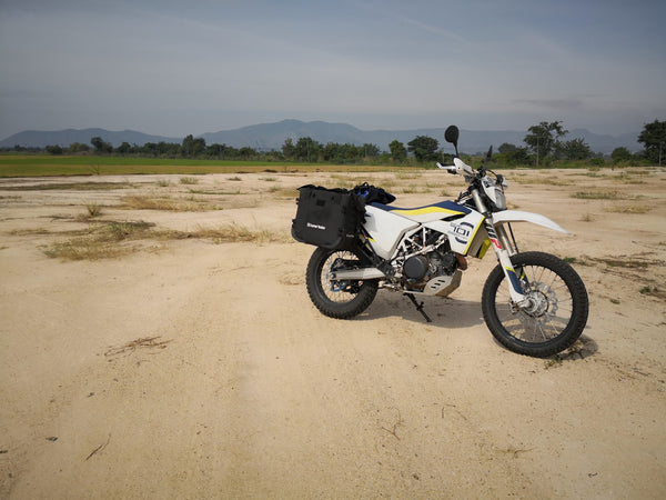 MotoBags on a Husqvarna 701