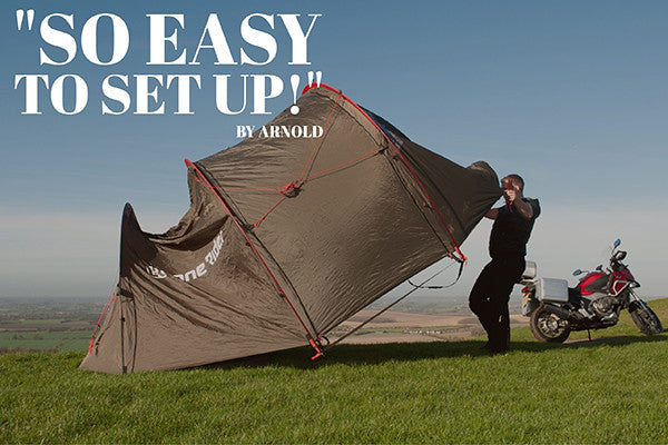 Lone Rider MotoTent photo and review - best Motorcycle and Motorbike c&ing tent : nomad motorcycle tent - memphite.com