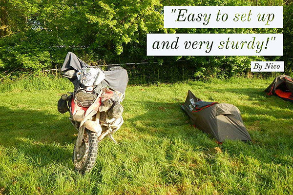 Lone Rider MiniTent photo and review - best compact one person tent for Motorcycle and Motorbike & MiniTent | Lone Rider | Lone Rider