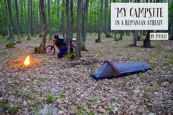 Lone Rider MiniTent photo and review - best compact one person tent for Motorcycle and Motorbike camping and backpacking