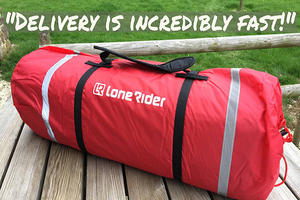 Lone Rider MotoTent photo and review - best Motorcycle and Motorbike camping tent