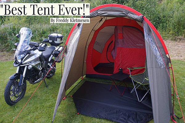 LONE RIDER: The Motorcycle Tent MotoTent