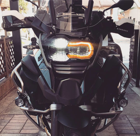 Headlight Guard Kit BMW R1200- Kenichi Goda