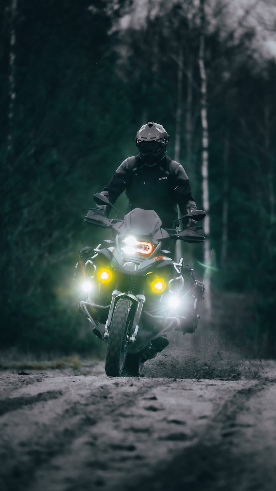 ADV motorcycle riding in the UK