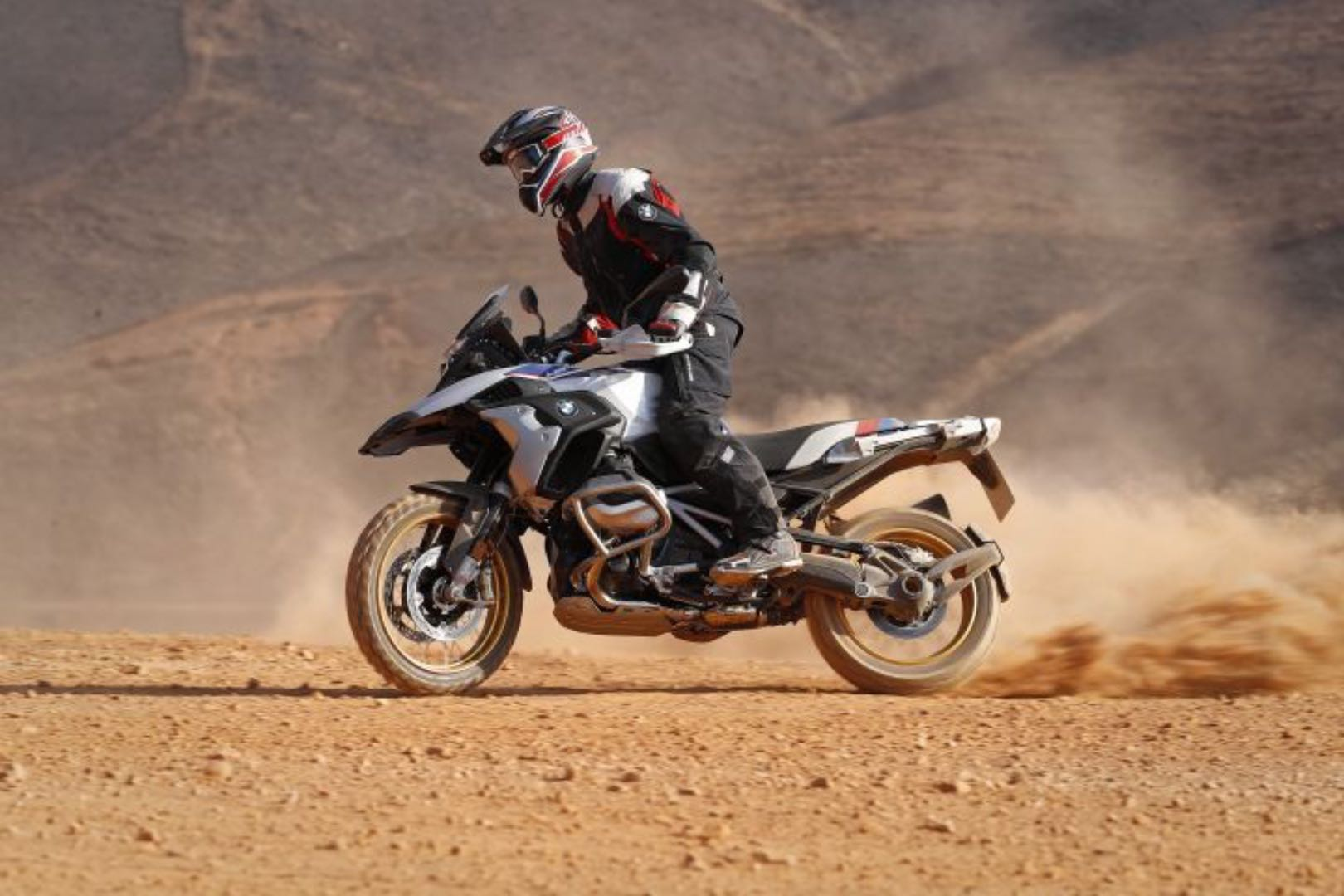 R 1250 GS BMW in the sand