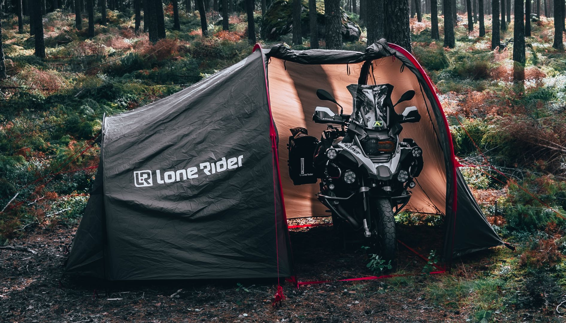 Motorcycle Camping on Trans Euro Trail (TET)