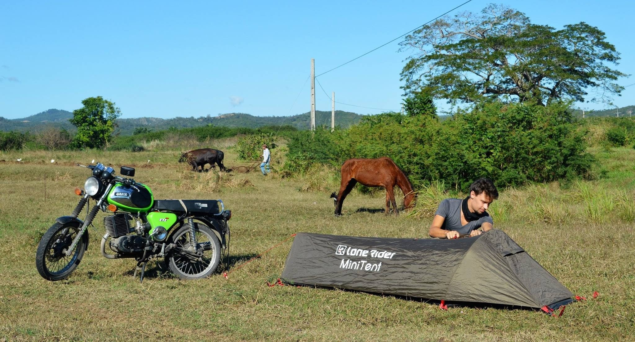 ... MiniTent - Lone Rider - Motorcycle Tent and C&ing Expert ... & MiniTent   Lone Rider   Lone Rider