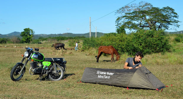 MiniTent - Motorcycle Tent perfect for any travel - Lone Rider
