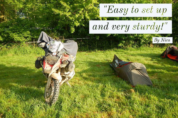 MiniTent - Lone Rider - Motorcycle Tent and Camping Expert