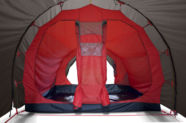 Inside tent for MotoTent V2 - Lone Rider - Motorcycle Tent and Camping Expert