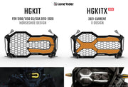 Headlight Guard Kit BMW R1200/1250 GS / ADVENTURE LC (Liquid Cooled)