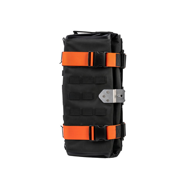 MotoBags orange color straps - top