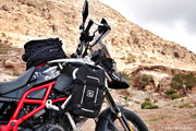 Waterproof motorcycle Mini Bag on BMW 800 GS