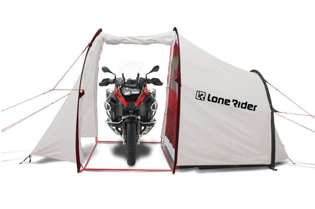 BMW Motorcycle camping tent - white