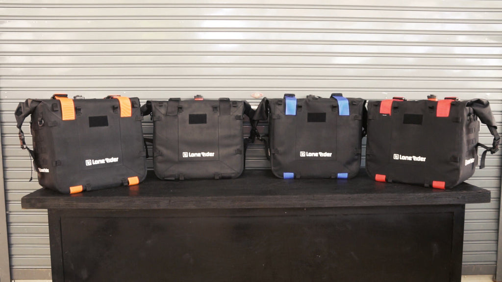 Color Straps for MotoBags
