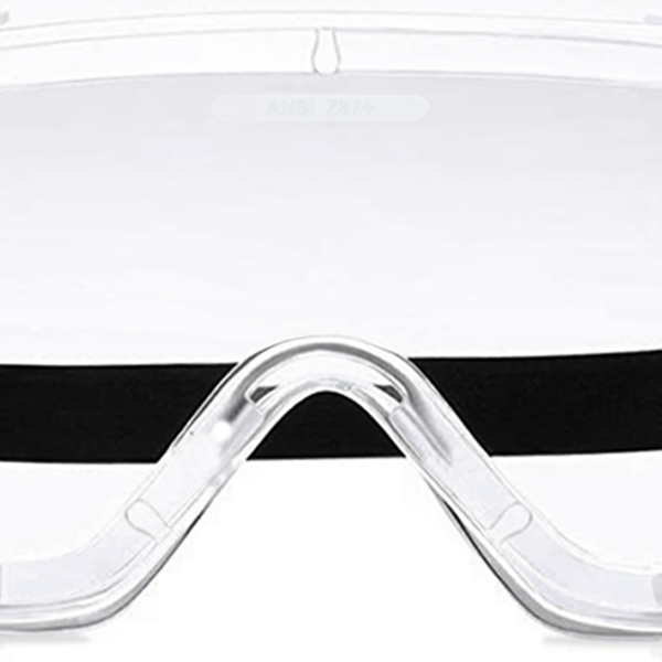 [ MIT ] Anti-Fog Protective Safety Goggles, Chemical Splash Eye Protection, Soft Lightweight Eyewear
