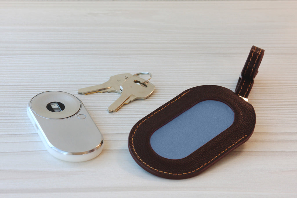 MOCAheart and Leather Keychain Bundle