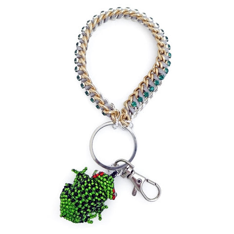 Kiss The Frog Bracelet Keychain