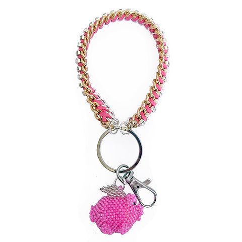 When Pigs Fly Bracelet Keychain