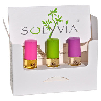 Solyvia CityBox Essential Oil Roll On Set
