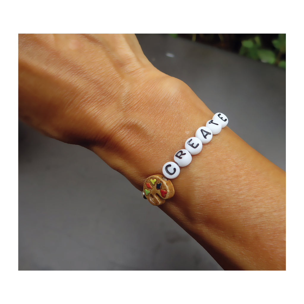Unique greeting card with message bracelet gift free shipping create greeting card kristyandbryce Gallery