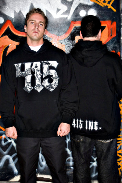 415 Gangster Men's Hooded Sweatshirt