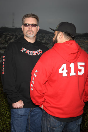 Frisco 415 Hooded Sweatshirt
