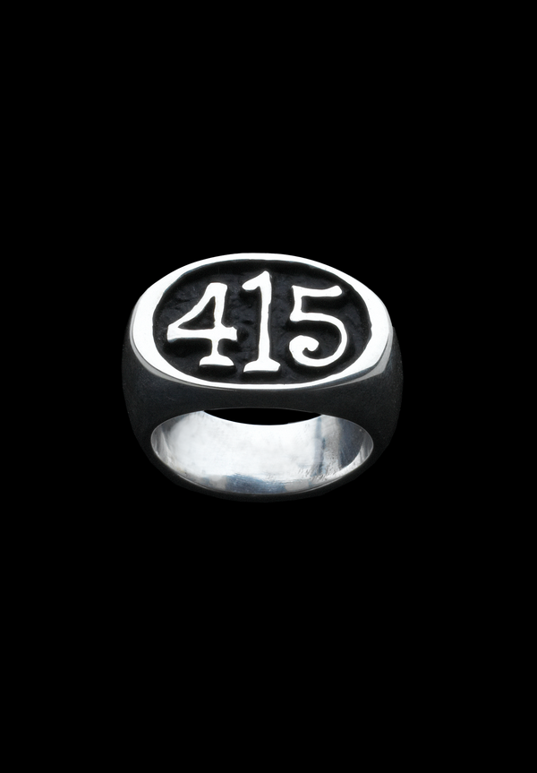 415 Sterling Silver Ring