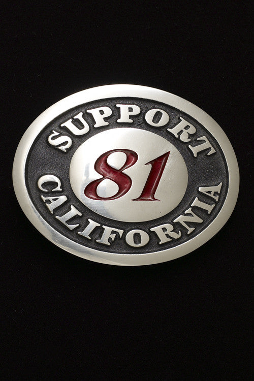 Support California Belt Buckle